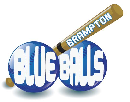 Brampton Blue Balls Logo Reveal   OBSESSED BALLERS FANTASY ...